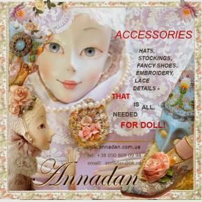 DVD - Bouduirové panenky - doplňky